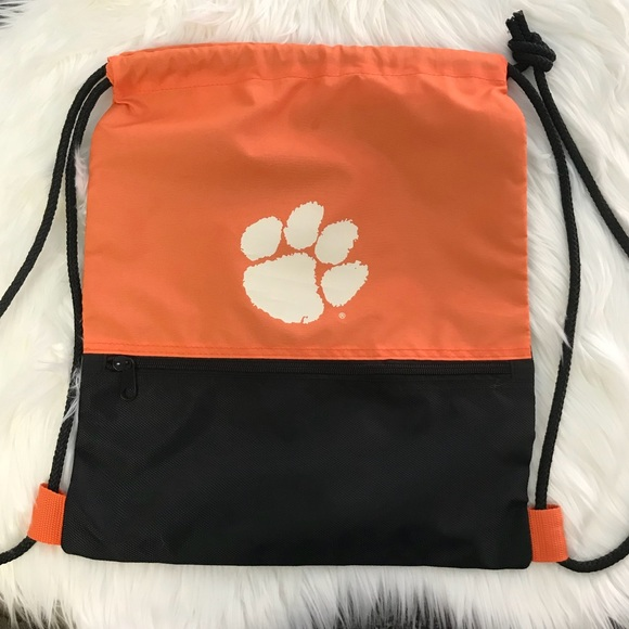 419f293c78f logo Bags   Like New Clemson Draw String Bag   Poshmark